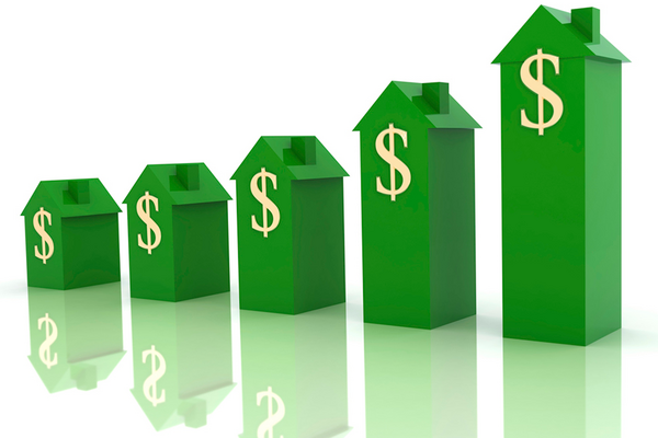 Home prices rise 1000