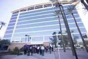 The US Airways Tempe building will remain occupied for at least five years. It houses 780 employees.