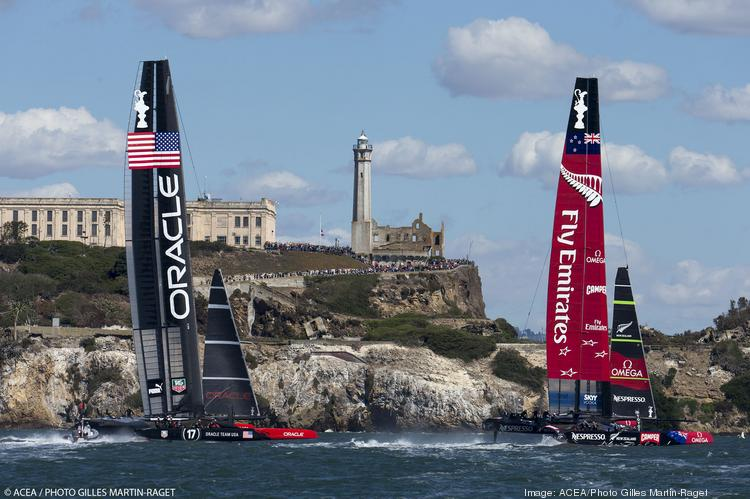 The 2013 America's Cup in San Francisco produced thrilling racing. It did not produce the level of spending originally forecast.