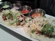 Korean tacos are among a handful of fusion dishes at Aura.