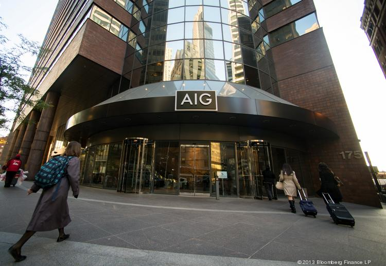 The New York headquarters of AIG. AIG's mortgage insurance business, United Guaranty, is based in Greensboro.