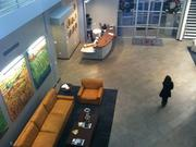 Another view of the lobby from the second floor.