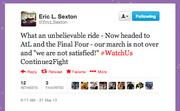 Tweet from WSU Athletic Director Eric Sexton.