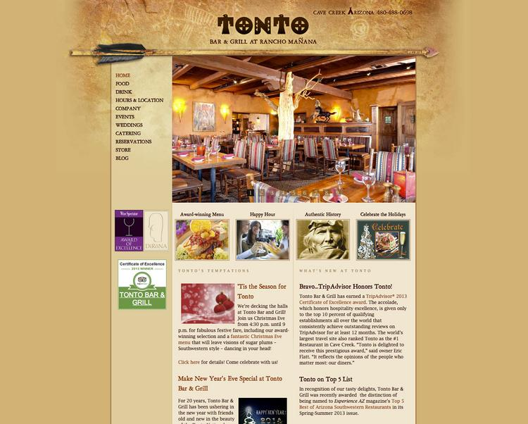 Tonto Bar & Grill, Cave Creek -- Decor: 25. Click through for the rest of the 15 best-looking restaurants in the Valley.