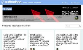 AuthorBee lets writers collaborate on stories using Twitter.