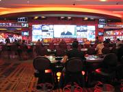 Baccarat tables at Maryland Live!