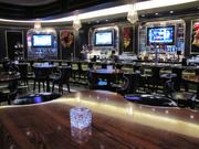 The bar area at The Prime Rib location in Maryland Live!