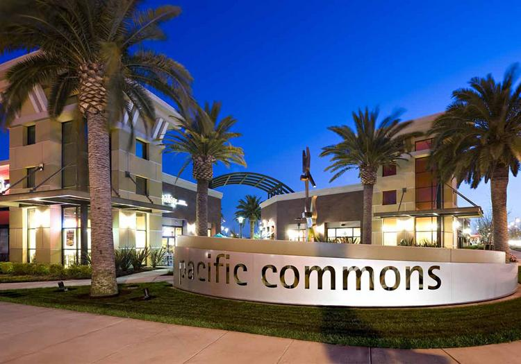 Catellus sold about 865,000 square feet of retail in Pacific Commons to Heitman, a Chicago-based investor.