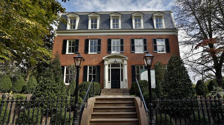 The Williams-Addison house was the highest priced home sale in the Washington region in April, selling for $16.1 million.