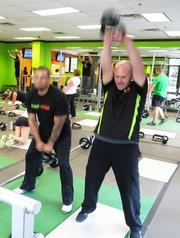 Specialty fitness and food discover eager customer base in Jacksonville  Timed Exercise Program Designer David Smith, right, works with a client at the Julington Creek location.  Click here to read the full story.