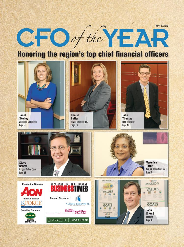 The 2013 CFO of the Year Awards from the Pittsburgh Business Times.