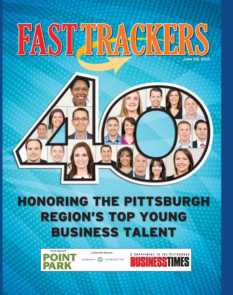 Fast Trackers Class of 2013 from the Pittsburgh Business Times.