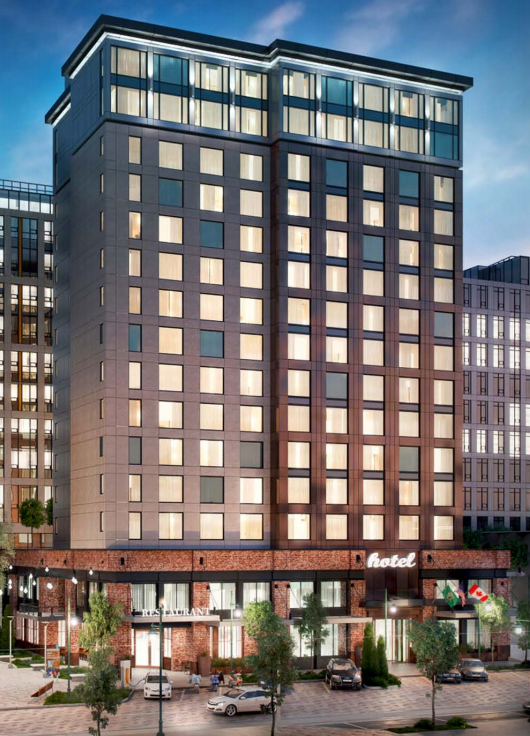 Stanford Hotels Corp Hopes To Start Construction Of This 15 Story Hotel In Seattle