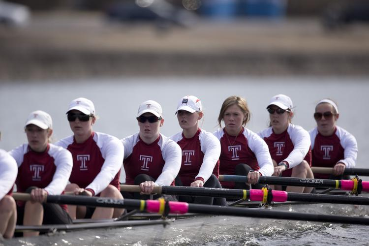 Temple's women's rowing team had been operating out of tents since its boat house was condemned in 2008. The school pulled out of plans to building a new multi-million dollar boathouse in May.