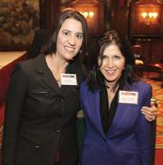 Megan Faust, left, and Dianne McClelland of McClelland Legal Search.