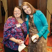 Melody Firmani, left, and Diane Dean of Epiphany! Counseling and Wellness Center.