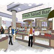 A food court-style servery will also be added to offer a wider variety of food options.