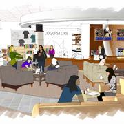 A new coffee shop is also part of the project.