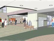 One of the additions included in a $30 million capital improvement project is an expanded commons area, which features a larger food service area, coffee shop and private group study rooms.