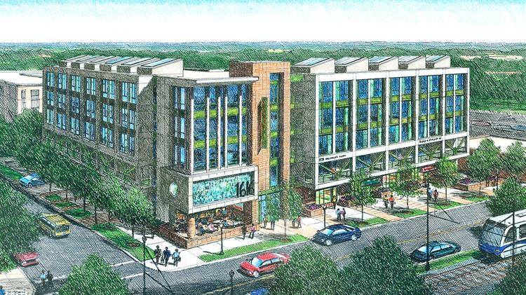 Centro Cityworks expects to begin construction of 1616 Center next year and is aiming for a summer 2015 completion.
