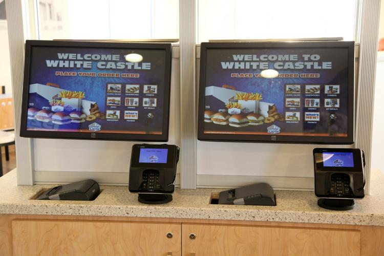 The kiosks are meant to alleviate the stress of waiting in line for customers.