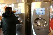 The Coca-Cola Freestyle drink fountain which offers more than 100 beverages.