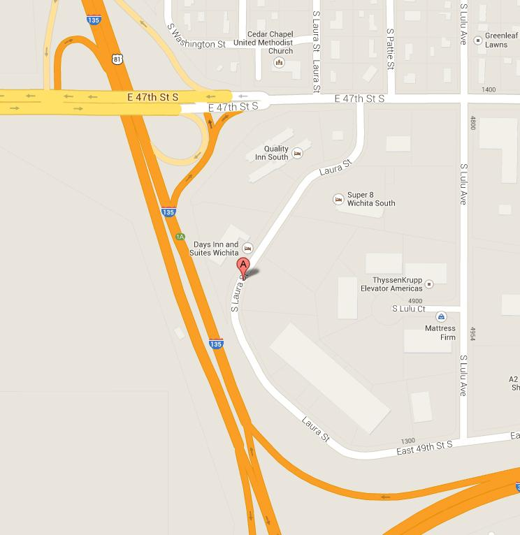 The new Holiday Inn Express will be at 4910 S. Laura St., just south of 47th South and east of I-135.