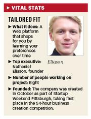 Information about Tailored Fit, Pittsburgh startup.