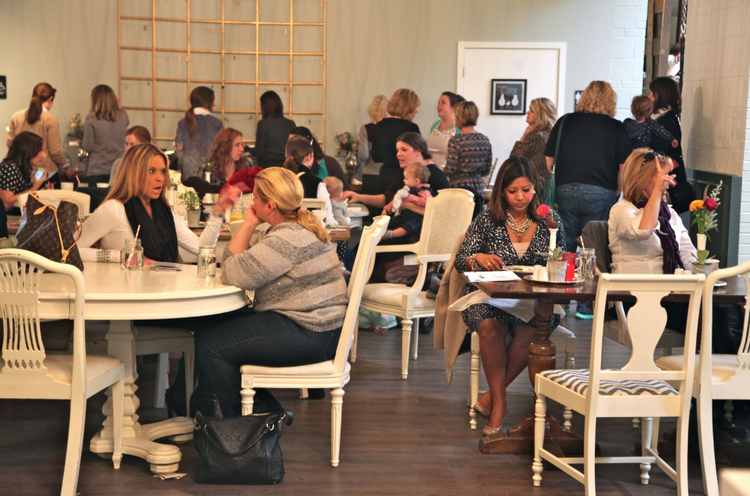 """The Nest opened a """"stay and play"""" cafe in Frontenac on Dec. 2."""