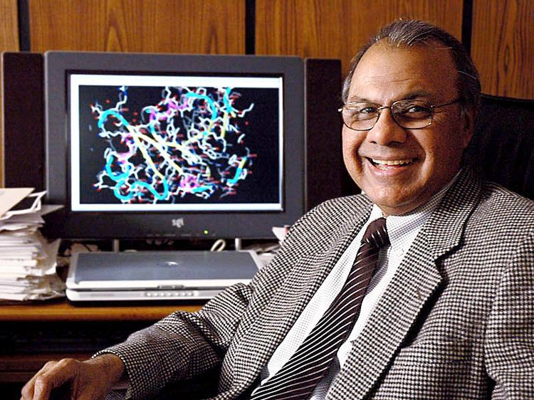 Aleem Gangjee, a professor of medical chemistry at Duquesne University's Mylan School of Pharmacy, developed cancer treatment drugs involved in a licensing deal.