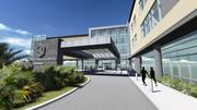 A rendering of the exterior of Florida Hospital Kissimmee's new tower
