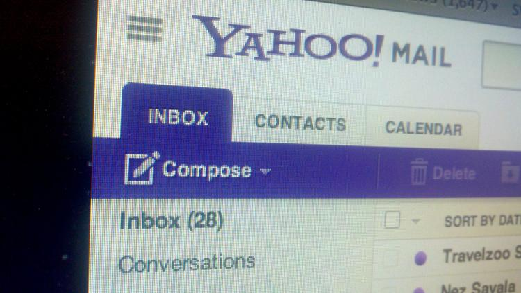 Yahoo said Thursday that it discovered an effort by hackers to gain access to Yahoo Mail accounts.