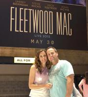 Kelly Buckley went to see the Fleetwood Mac reunion concert with her husband, Ron Plaisted, as a gift from American Valet Co. when she was promoted from vice president to chief operating officer.