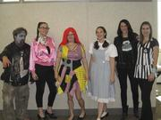 CBRE employees go all out for their annual Halloween costume contest.