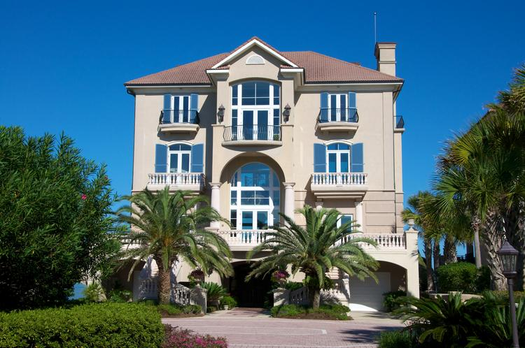 The front of the home on Dunes Row in Amelia Island Plantation that sold for $4.1 million.