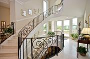 The staircase in the home on Dunes Row in Amelia Island Plantation that sold for $4.1 million.