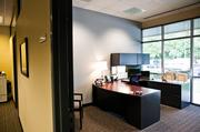 A executive suite in Mechanical Resource Group's new office space.