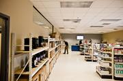 The company has  seperate space for stocking supplies for contractors and owners.