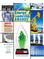 <strong>A</strong> LOOK BACK: Energy Leadership Awards 2013