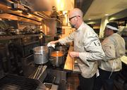 Executive Chef Wilson Wieggel works in the kitchen of Farmer's Table in Boca Raton.