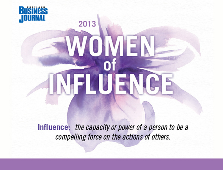 Click through the gallery to meet the 2013 Women of Influence finalists.