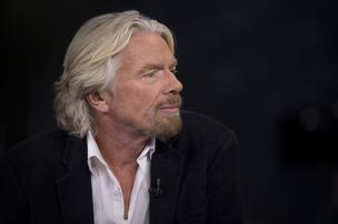Richard Branson, chairman and founder of Virgin Group Ltd., pauses during an interview in New York, on Thursday, December 6, 2012.