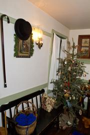 A old-time Christmas tree.