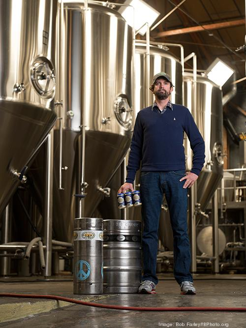Good People Brewing Co.'s Joel Harris.Good People was recently mentioned in a state-by-state ranking of states for beer.