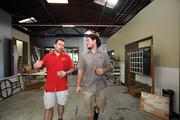 Cigar City Brewing's Joey Redner, left, mentored Khris Johnson, head brewer at Green Bench Brewing Co. in St. Petersburg.