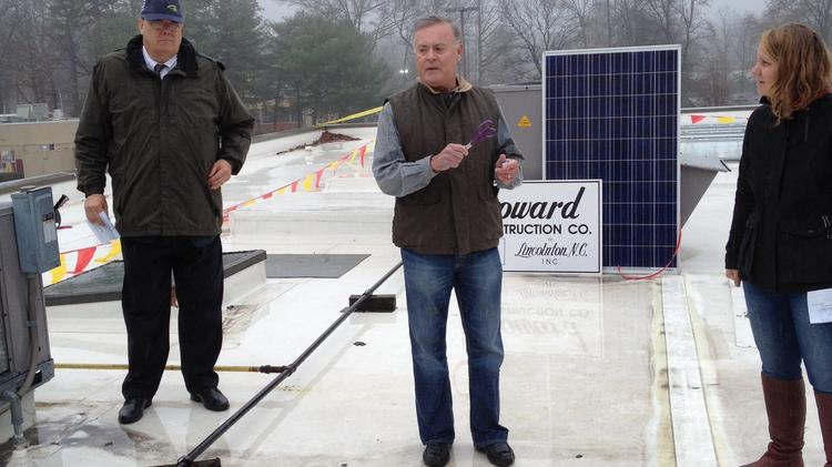 Ken Lewis – a former chief executive, chairman and president of Bank of America Corp.  – is the not-so-secret benefactor behind Habitat Charlotte's rooftop solar plant.