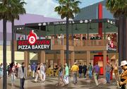 Take a quick trip to Italy for authentic, artisan pizza--made fresh, while you wait--at Universal CityWalk's first-ever Neapolitan-style pizza bakery. The combination of the highest quality ingredients and a traditional 900-degree stone-lined oven ensures every slice is pizza perfection.