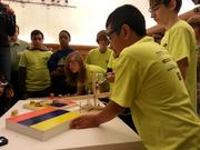 Two teams from Starbuck Middle School participated in the NFPA Fluid Power Challenge.