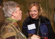 Karen Fleming of Ad Astra Financial Group at the BizWomen Holiday Mix and Mingle Tuesday night at The Loft at 420, 420 S. Commerce.