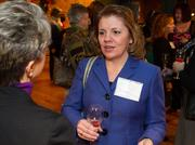 Jill Staats of the Arnold Group at the BizWomen Holiday Mix and Mingle Tuesday night at The Loft at 420, 420 S. Commerce.